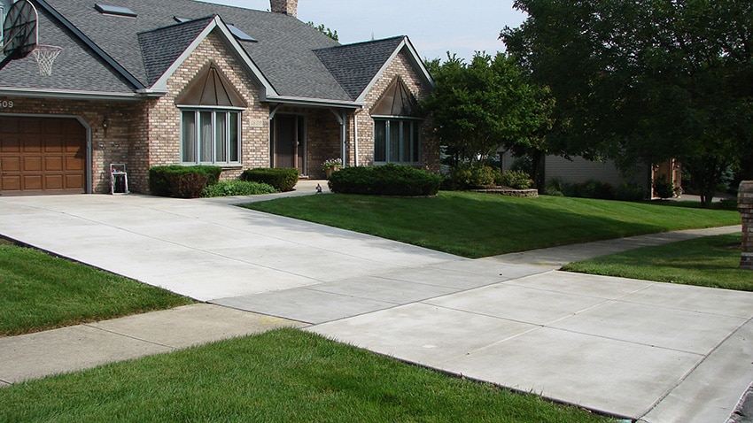 Concrete By Sennstrom Residential Chicagoland Driveway